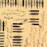 116 Kalligraphie-Federn