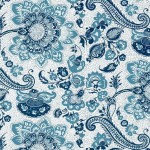 052 Paisley-blau-weiss
