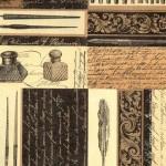 117 Kalligraphie-gold-schwarz