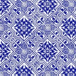 123 Ornament-Orient-blau