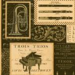 124 Instrumente-schwarz gold