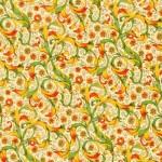 161-Flor.-Ranke-grün-gelb
