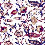 172-Floral-rot-blau